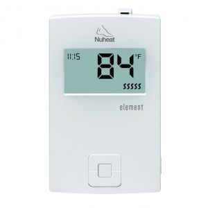 Nuheat ELEMENT Non-Programmable Dual Voltage Thermostat
