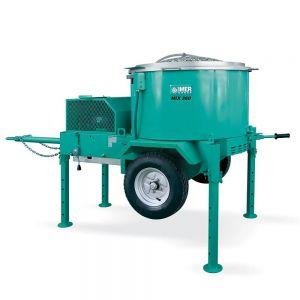 Imer Mix 360 Plus (Mortarman) Vertical Shaft Towable Mortar/Cement Mixer