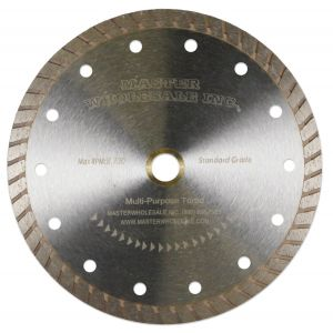 MWI Multipurpose Turbo Diamond Blade - 4, 4.5, 5, & 7