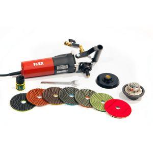 Master Wholesale Wet Polishing Bullnose kit w/ Flex LW1503