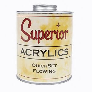 Superior Adhesives QuickSet Flowing Adhesive - Quart