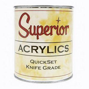 Superior Adhesives QuickSet Knife-Grade Adhesive - Quart