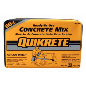 Quikrete Concrete Mix - Ready-To-Use