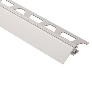Satin Anodized Aluminum 3/8 in. x 8 ft. 2-1/2