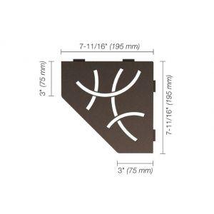Pentagon Corner Curve - Bronze (TSOB)