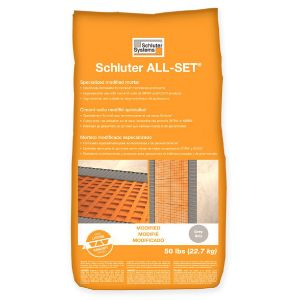 Schluter All-Set Modified Thin-set Mortar