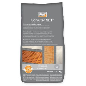 Schluter SET Unmodified Thinset Mortar