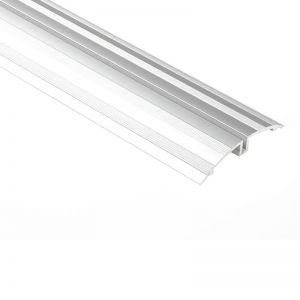 Schluter SHOWERPROFILE-WSK Splashguard Trim Retrofit Profile