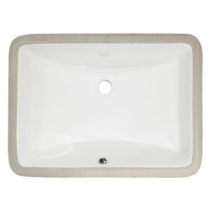 MasterSink White Undermount Porcelain Sink P202G