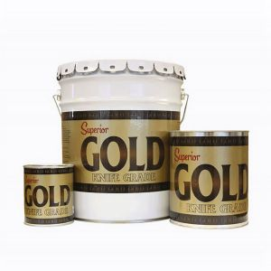 Superior Adhesives Gold Knife-Grade Adhesive - Quart