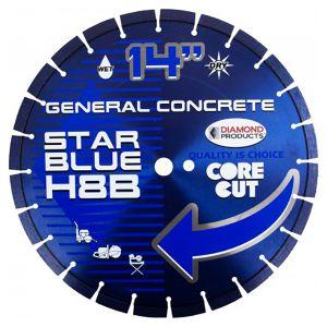 Diamond Products H10B Star Blue High-Speed Diamond Blade 14