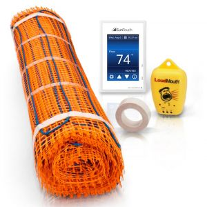 SunTouch TapeMat Kit with the SunStat 500850 Thermostat
