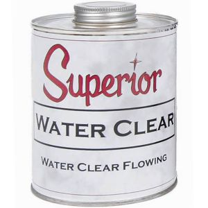 Superior Adhesives Flowing Water Clear Polyester Adhesive - Quart