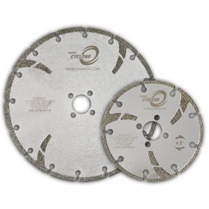 Diamax Super Cyclone Electroplated Marble Diamond Blades