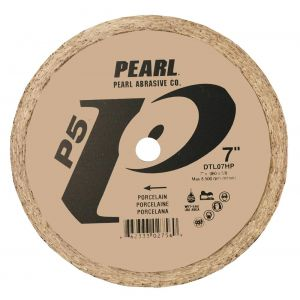 Pearl Abrasive P5 Porcelain Wet Diamond Blade