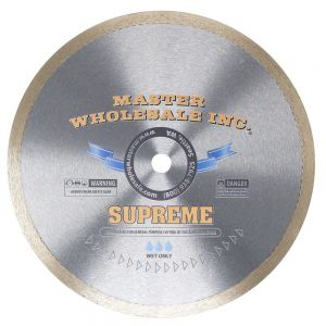 Master Wholesale Supreme Continuous Rim Wet Diamond Blade