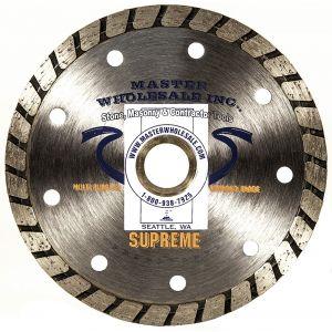 MWI Supreme Turbo Diamond Blade - 4.5 and 5
