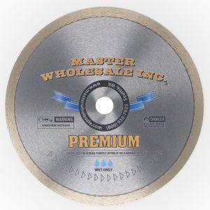 MWI Premium Continuous Rim Wet Diamond Blade - 7