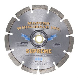 MWI Supreme Segmented Wet Diamond Blade - 7