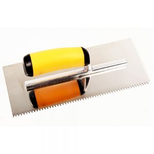 Master Wholesale Stainless Steel V-Notch Trowel - 1/4