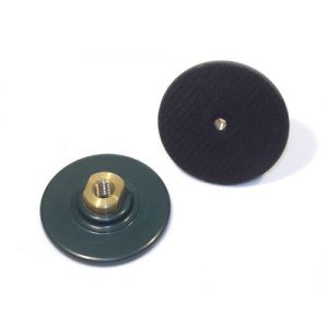 RockMaster Flexible Green Rubber Velcro Pad Holder