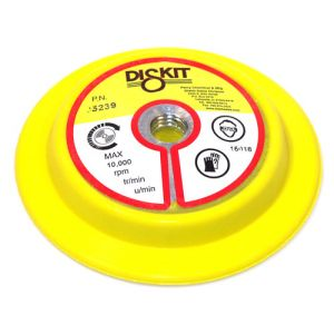 Diskit Flex Edge Foam Body Velcro Disc Pad Holder - Wet/Dry