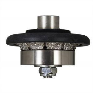 RockMaster Demi-Bullnose Diamond Router Bit - Coarse