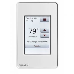 OJ Microline UDG4 In Floor Heating Touchscreen Thermostat