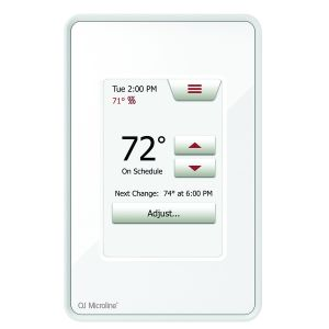 OJ Microline UWG4-4999 Wi-Fi Touchscreen Programable Thermostat