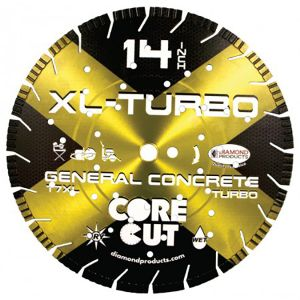 Diamond Products XL-Turbo Specialty Concrete Diamond Blade - 14