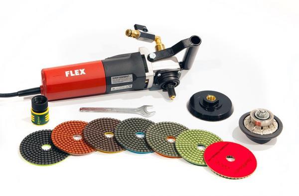 MWI Flex LW 1503 Wet Polishing Bullnose Kit